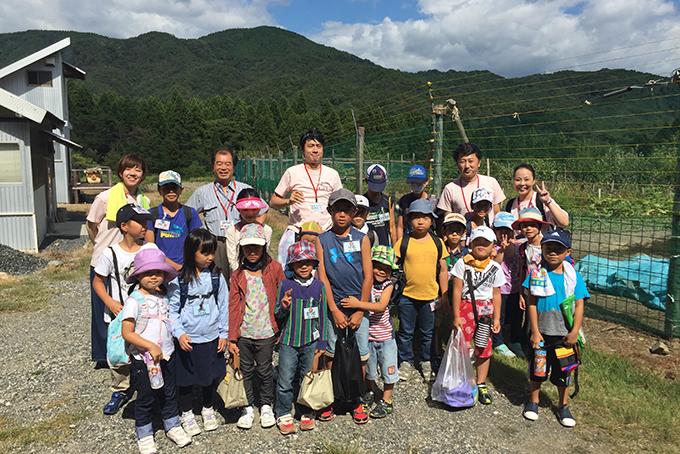 GFC奥琵琶湖レイクシアで、ちびっこアドベンチャーイベントを開催しました